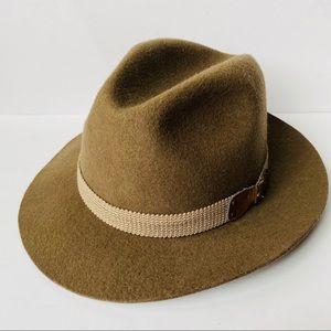 John Blair Vintage Wool Felt Fedora Hat